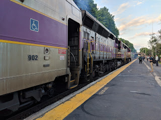 MBTA Commuter Rail: This weekend - Franklin Line no Back Bay or Ruggles stops