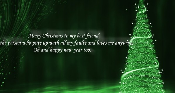 special christmas wishes for your family - Merry Christmas Best Friend