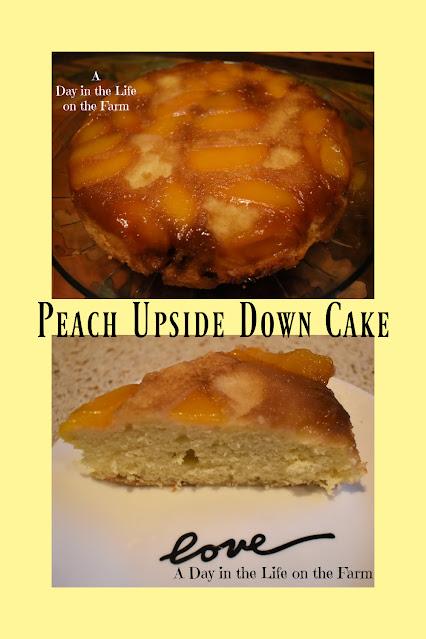 Peach Upside Down Cake pin