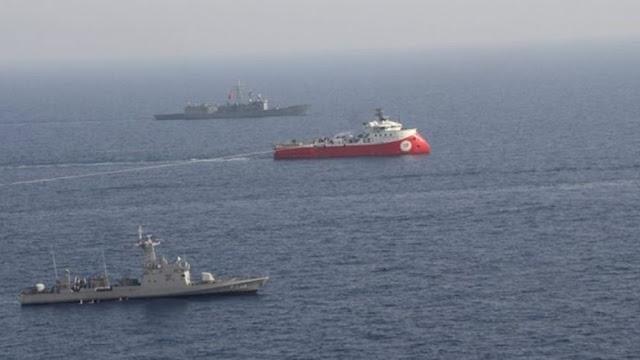 """Τούρκος αναλυτής: Υπάρχει """"μάχη για θαλάσσια σύνορα"""""""
