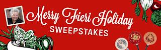 Merry Fieri Food Network Contest