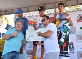 """Atleta Picuiense Adriano """"Bode"""" vence os 5 quilômetros da meia maratona Cidade de João Pessoa"""
