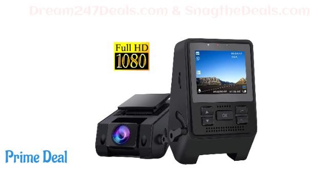 50% OFF Dash Camera for Cars Super Night Vision,