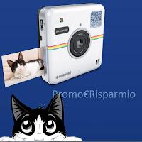 Logo Vinci gratis Polaroid SocialMatic e un premio sicuro per tutti