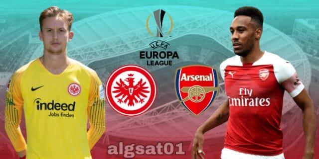 الدوري الأوروبي - آرسنال - آينتراخت فرانكفورت - آرسنال ضد  آينتراخت فرانكفورت - أوروبا ليغ