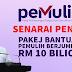 Senarai Pakej Bantuan PEMULIH yang mencecah RM 10 bilion