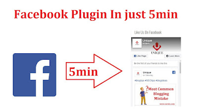 Create Facebook Page Plugin In Blogger And Website - EarnTC