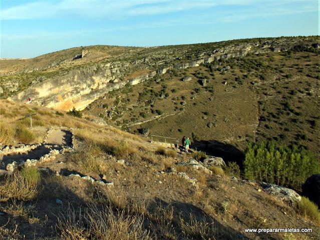 ruta miradores ciudad romana Valeria Cuenca