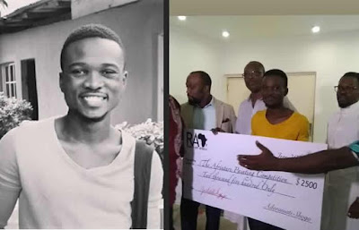 NYSC Member Wins $2,500 Painting Competition In Lagos