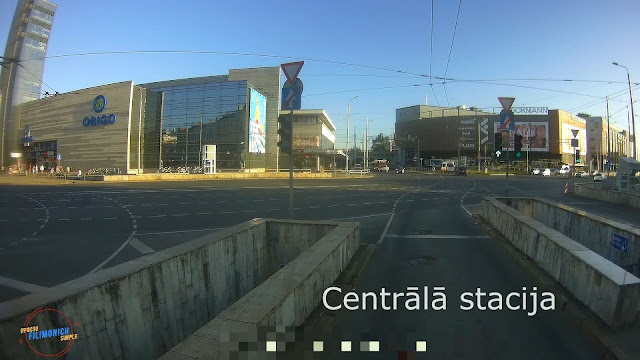 Video walks in Riga Latvia