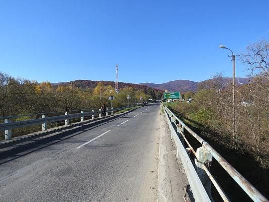 Ustrzyki Górne. Most nad Wołosatką.