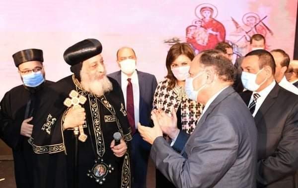 محافظ أسيوط يشارك في حفل ذكرى دخول العائلة المقدسة لمصر بالكاتدرائية المرقسية بالعباسية