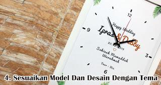Sesuaikan Model Dan Desain Dengan Tema Acara Dan Perusahaan