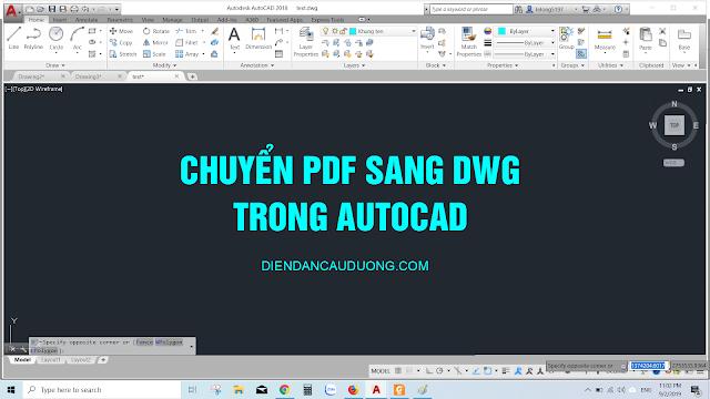 chuyen pdf sang dwg