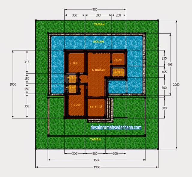 Desain Rumah Kayu Mungil Bisa Villa Sederhana Minimalis Denah Gambar