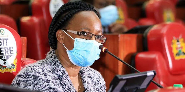 PS health Ministry Susan Mochache