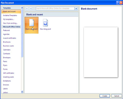 Microsoft Word - New, Open, Save and Save As command definition - mickrosoft word