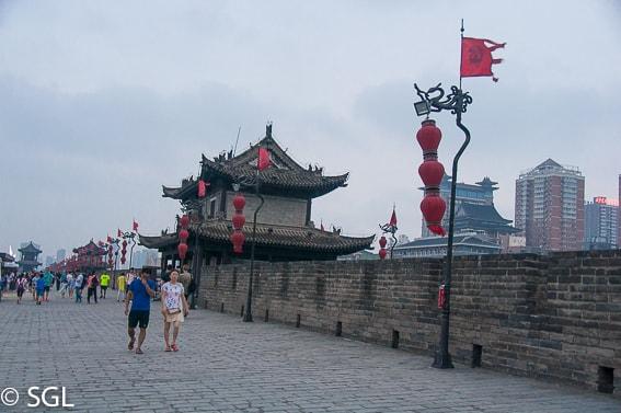 Muralla de Xian. La ultima ciudad de la ruta de la seda.