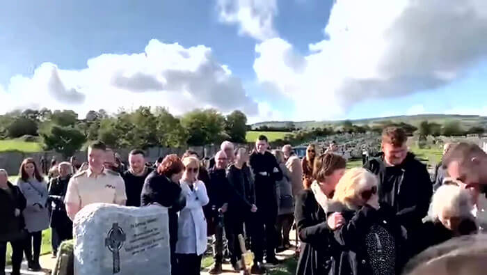Irish Man Pre-Recorded Message To Play At His Funeral Making Mourners Laugh Through Tears
