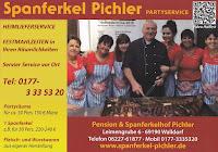 SPANFERKEL HOF FEST, LEIMENGRUBE 6, WALLDORF. Zwischen Reilingen und Walldorf Spanferkel Pichler