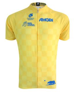 Tour of California yellow jersey 2016