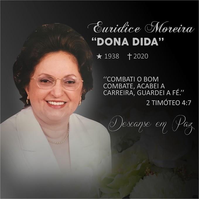 ITABAIANA: Ex-Prefeita de Itabaiana, Dona Dida morre por problemas respiratórios em João Pessoa/PB.