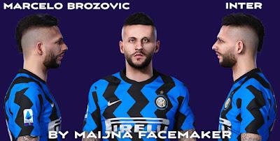 PES 2021 Faces Marcelo Brozović by Maijna