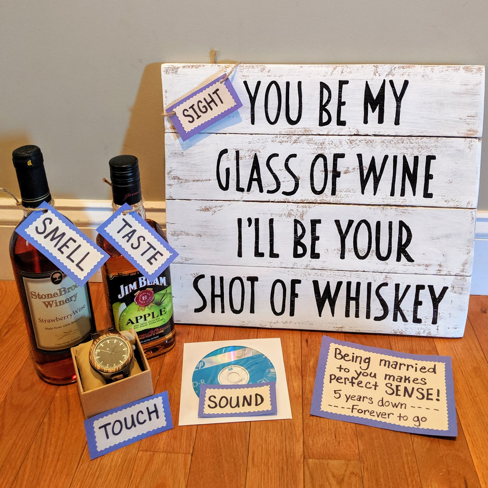 5 Year Wedding Anniversary Gift Idea