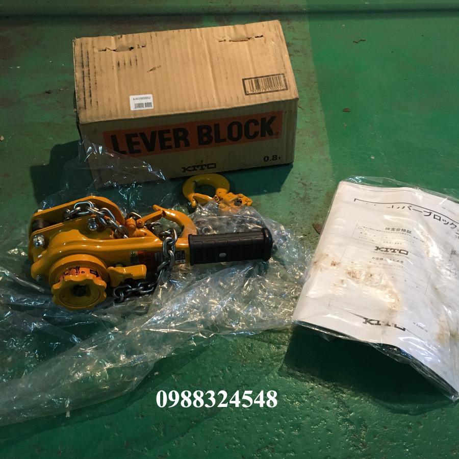 Pa lăng lắc tay Kito LB008 750kg