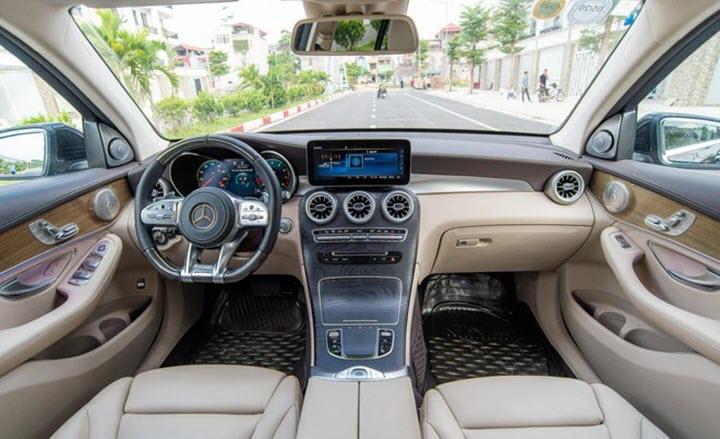 Mercedes GLC độ ngoại hình AMG GLC 63 tại Việt Nam