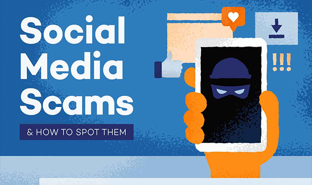 Social Media / 10 Social Media Scams and How to Spot Them