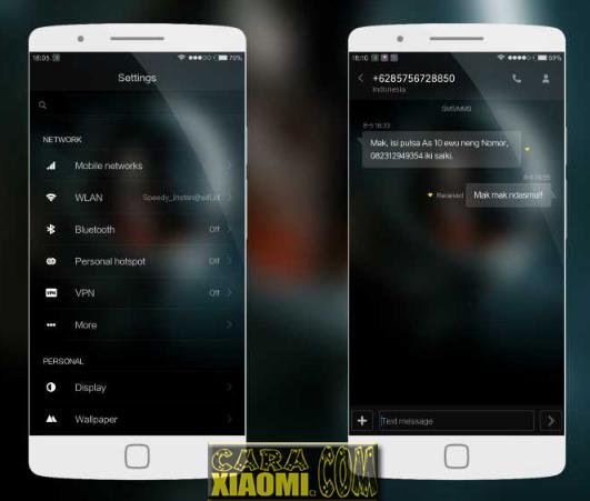 Download Theme MIUI Nagasari Mtz For Redmi V9 / V8 Terbaru