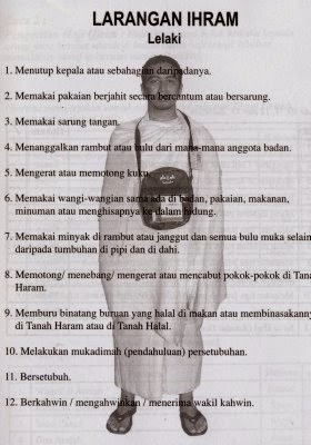 Pengertian Tahallul : pengertian, tahallul, Umroh, Surabaya:, Mengenal, Ihram, Larangan-Larangannya