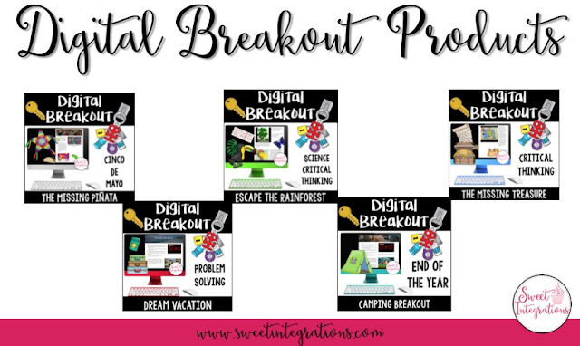Click here to see all of the Digital Breakout resources in Sweet Integrations shop!