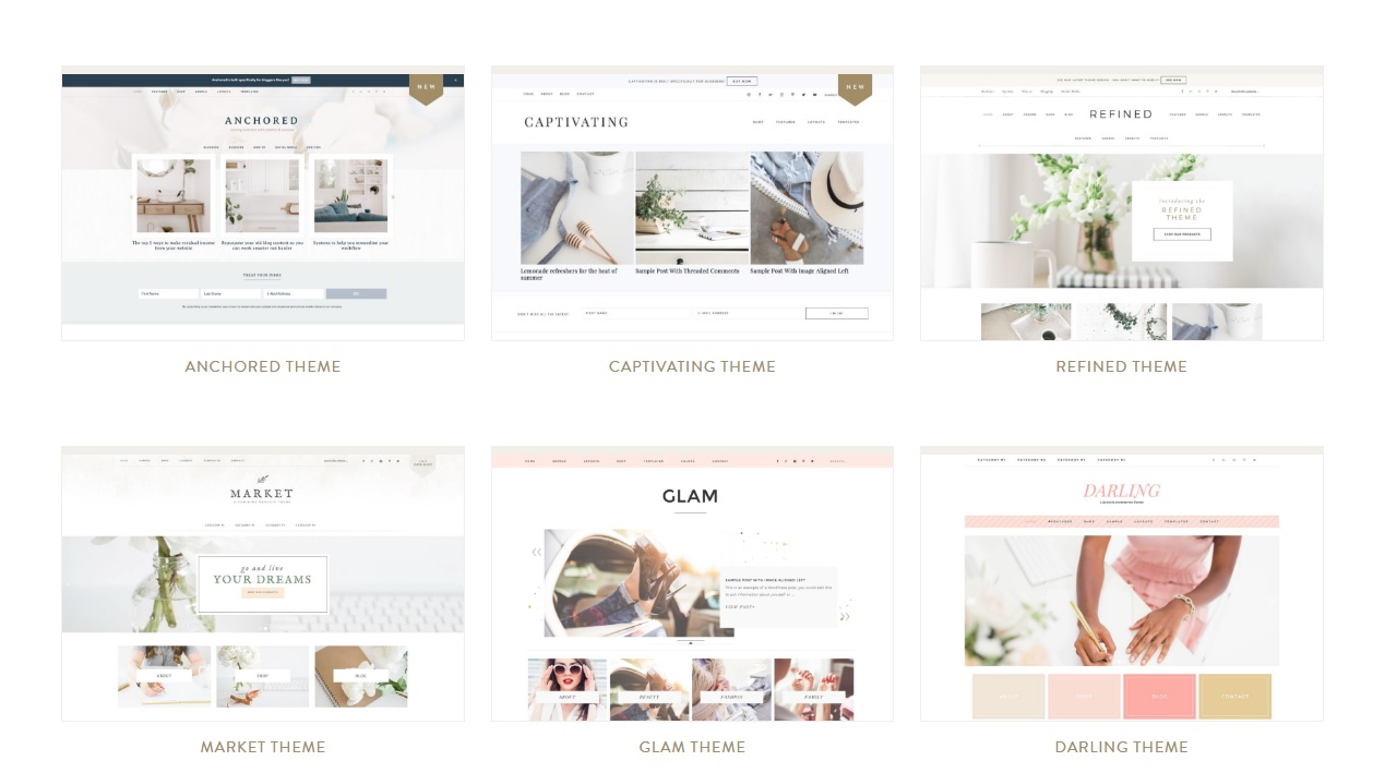 femine responsive wordpress themes