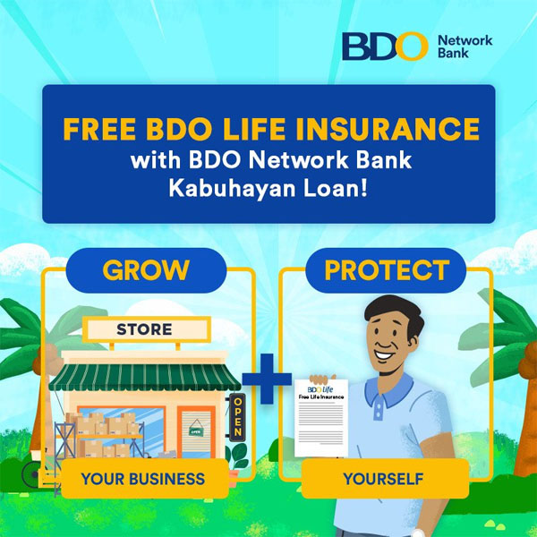 BDO Network Bank, BDO Unibank, MSME, small business owner, love month, February, Valentine's Day, Valentine's gift, February 14, free life insurance
