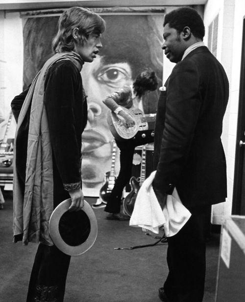 Mick Jagger & B.B. King, 1969