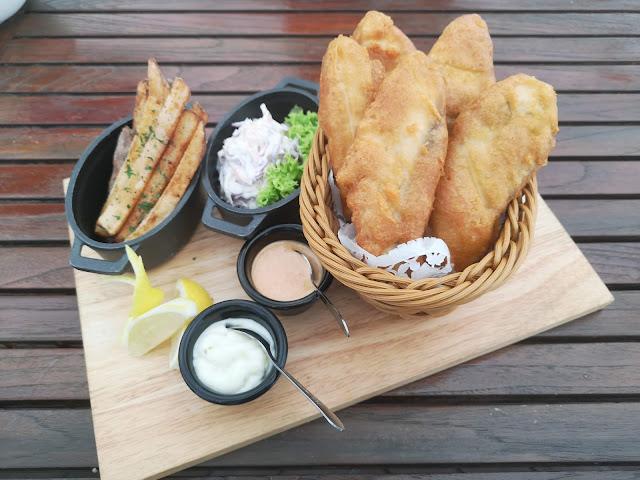 Barramundi Fish & Chips