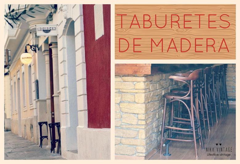 taburetes, taburetes de cocina, decoracion, vintage, tolix, thonet
