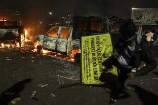 Pihak Kepolisian Menduga Jika HMI Dalang Utama Pada Kerusuhan Demo 4 November - Commando