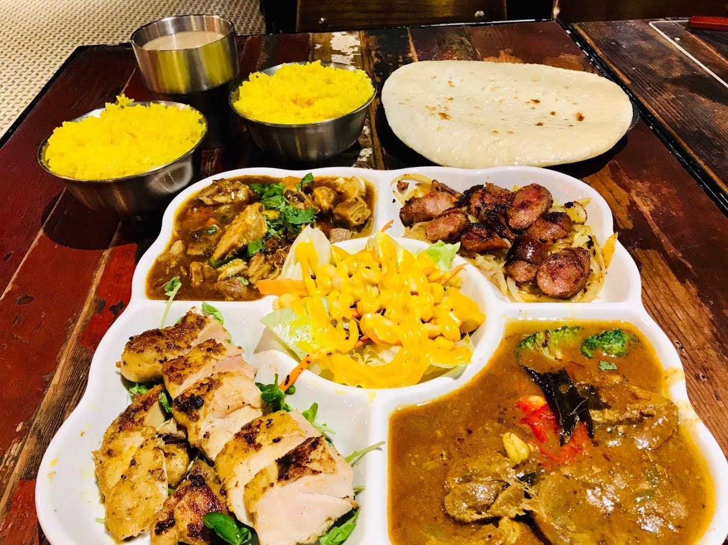 印度咖哩 Indian curry、烤餅、拉茶推薦,板橋大遠美食
