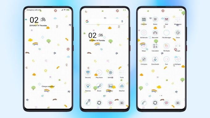 Cutie MIUI 11 Theme | Xiaomi Redmi Themes