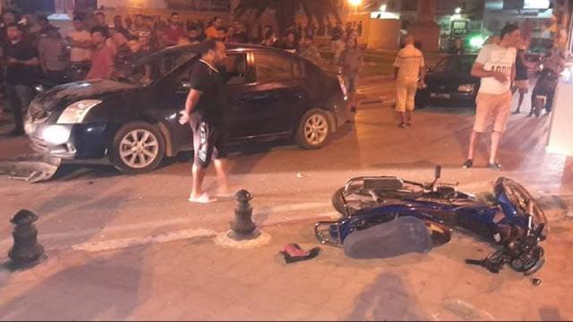 عملية دهس في قصر هلال : إيقاف المتهم وهو في حالة هستيرية