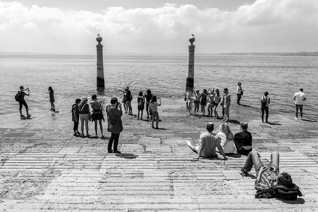 Un paseo por Lisboa - Cais das Colunas