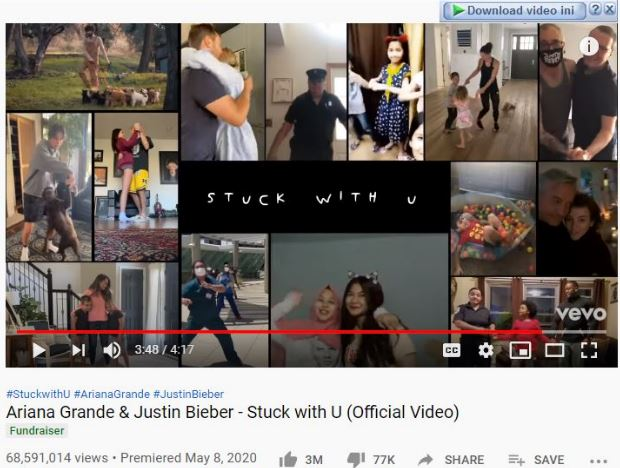 download lagu stuck with you mp3