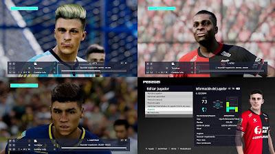 PES 2021 FacePack by Diegotatoosparapes