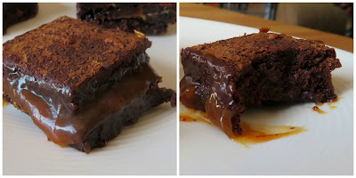 Salted Caramel Bad Brownies