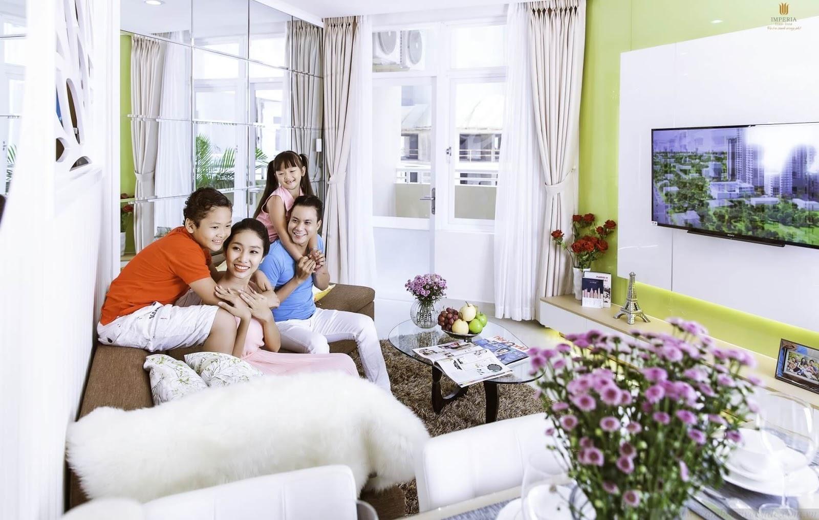 Mong muốn của gia đình trẻ là sở hữu căn hộ với chức năng sống cơ bản có mức giá phù hợp.