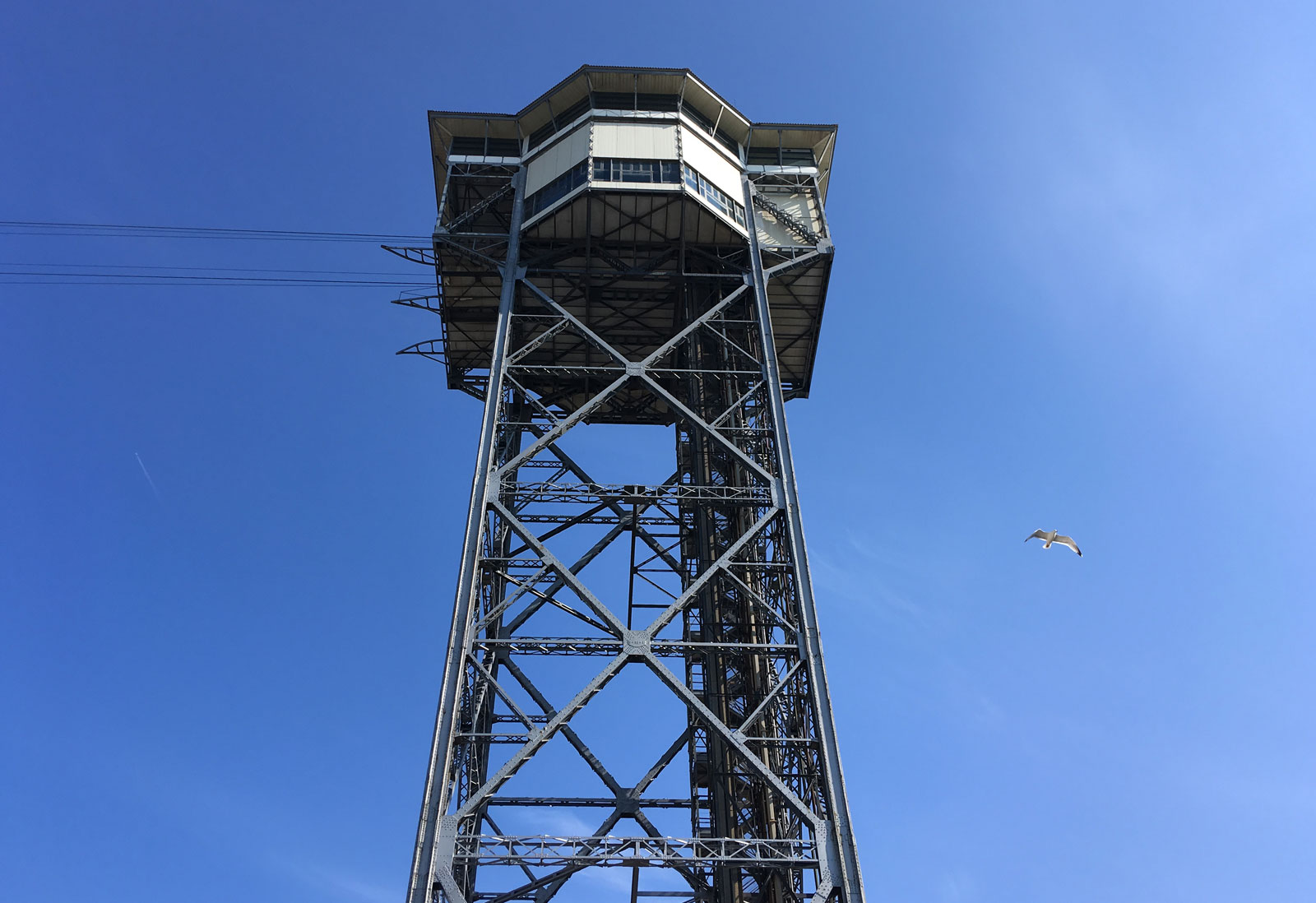 Torre del teleférico, Barceloneta, 19/05/2018