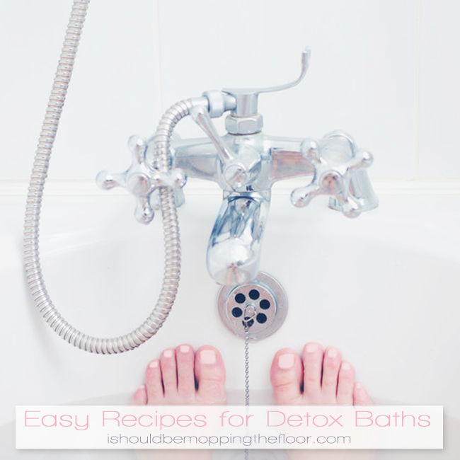 Recipes for Detox Baths